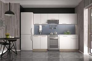 Kuchyně Daria - 240 cm (bílá/dub sonoma)...