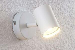 ELC Tomoki LED spot, bílý, 1žárovkový...