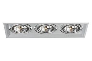 Kanlux s. r. o. Podhledové svítidlo AR111 ARTO 3L-SR stříbrné...