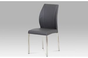 Autronic Jídelní židle HC-381 GREY - šedá...