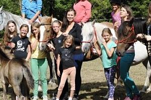 Letní tábory s koňmi na Vysočině...