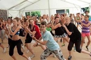 Taneční tábor na Vysočině...