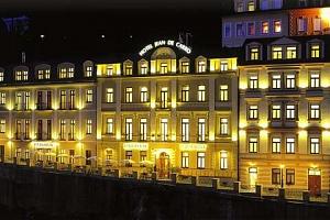 Léto i podzim v hotelu Jean de Carro**** v Karlových Varech s wellness a polopenzí...