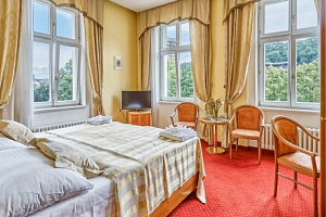 Karlovy Vary v Park Spa Hotelu Sirius **** až s 6 wellness procedurami, ovocem na pokoji a polopenzí...