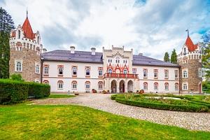 Vysočina v unikátním zámečku Chateau Herálec ***** Boutique Hotel & Spa s luxusním wellness a…...