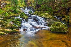 Krkonoše u Mumlavského vodopádu: Pension Katka Harrachov se snídaní formou bufetu...