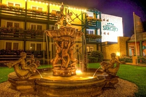 Piešťany: Relaxace u vody v Grand Hotelu Sergijo **** s venkovním i vnitřním wellness, masážemi a…...