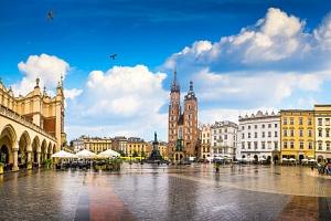 Krakov v blízkosti historického centra v Hotelu Nowa Panorama *** se slevou na vstup do aquaparku a…...