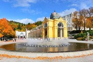 Hotel Pelikán v Mariánských Lázních s polopenzí i procedurami...