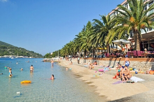 Chorvatsko: Ostrov Korčula přímo na pláži v Hotelu Posejdon *** s polopenzí a živou hudbou + dítě…...