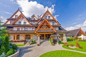 Polské Tatry v luxusním Hotelu Toporow Style *** s neomezeným wellness, bazénem a fitness +…...