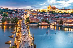 Praha přímo v centru města 250 m od zastávky metra v Hotelu Otar *** se snídaní a transportem z…...