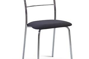 Chromová židle LORENA Látka: CARABU chiaro 96...