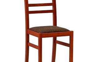 Jídelní židle MAIDA Odstín: Ořech, Látka: Avorio 24...