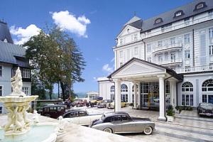 Mariánské Lázně: 5* Hotel Esplanade Spa & Golf Resort s procedurami, bazénem a snídaní + dítě do 13…...