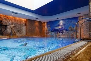 Hotel Aqua Marina v Karlových Varech s wellness procedurami...