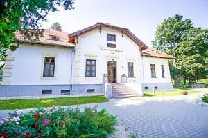 Maďarský Sárvár v romantickém Hotelu Vadkert Major *** s celodenním vstupem do termálních lázní +…...
