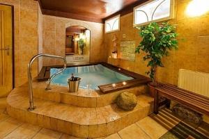 Krkonoše: Špindlerův Mlýn v Alpském Hotelu ***+ s neomezeným wellness, masáží, polopenzí a dalšími…...