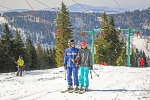Polské Beskydy: Parádní zimní pobyt u ski areálů v Hotelu Alpin *** s polopenzí, wellness a skibusem...