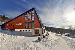 Zima v Hotelu Vltava v Krkonoších pro 2 + 2 děti do 15 let zdarma...
