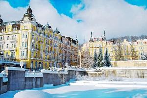 Hotel Poštovní dvůr v Mariánských Lázních s polopenzí a wellness...
