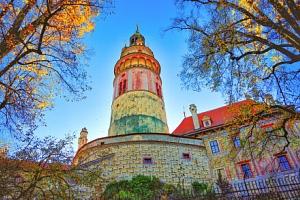 Český Krumlov poblíž centra a krásného zámku v Penzionu Golden Crown *** se snídaní formou bufetu...