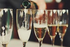 Ochutnávka šampaňských vín...