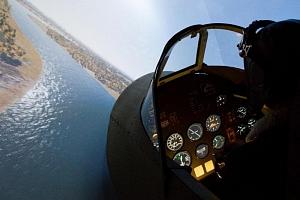 Letecký simulátor stíhačky Supermarine Spitfire...