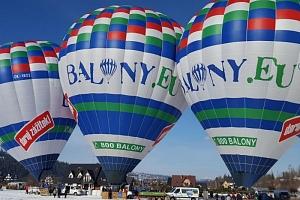 Vyhlídkový let balónem nad Tatrami...