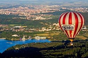 Let historickým balónem...