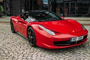 Jízda ve Ferrari 458 Italia na Moravě...