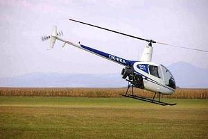 Adrenalinový let vrtulníkem...