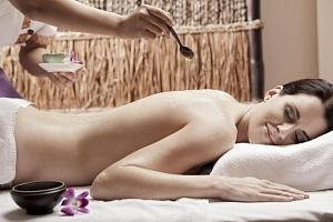 Relaxační thajská masáž konopným olejem...