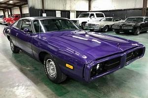 Adrenalinová jízda v Dodge Charger r. 1973...