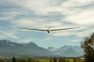 Akrobatický let větroněm...