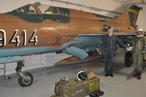 Letecký simulátor stíhačky MiG-21...