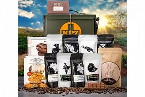 Dárková Army bedna pro milovníky kávy...