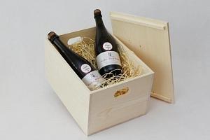 Dárkové balení vína: 4 láhve sektu...
