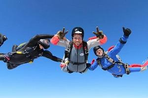 Základní výcvik volného pádu ze 4 000 m...