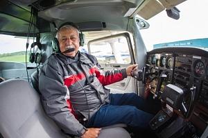 Exkluzivní řízení letadla na zkoušku...