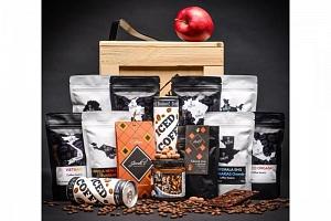 Originální dárková bedna pro milovníky kávy...
