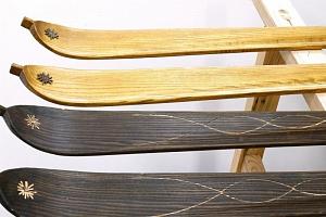 Kurz výroby dřevěných lyží...