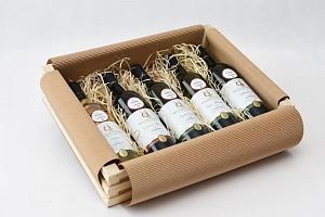 Dárkové balení vína: 5 láhví z Moravy...