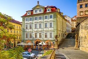 Praha přímo v centru jen 500 m od Pražského hradu v Hotelu Golden Star **** se snídaněmi formou…...