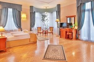 Mariánské Lázně u Hlavní kolonády v Hotelu Belvedere Spa & Wellness **** s bazénem, procedurami a…...