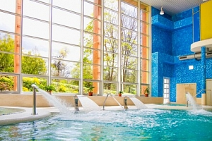Konstantinovy Lázně: Luxus ve 4* Hotelu Löwenstein ve Studiu/Apartmá s kuchyňkou + wellness, masáž…...
