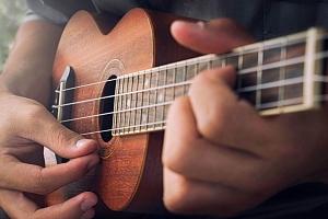 Online kurz hry na ukulele...