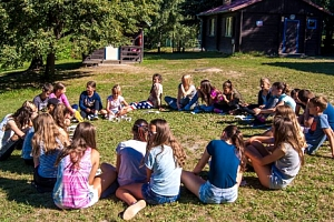 Letní dětský tábor na 10 dnů v Moravském Berouně...