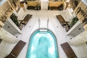 Karlovy Vary ve 4* Spa & Wellness Hotelu Karlsbad Grande Madonna se vstupem do bazénu, procedurami…...