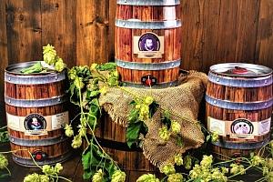 3 párty soudky řemeslného piva Auersperg: 3 × 5 l...